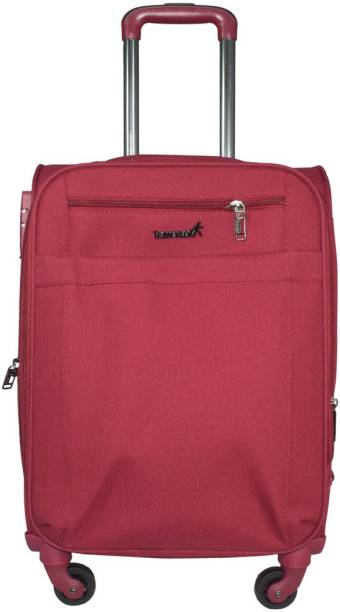 39f6d192a TRAWORLD Earth 1001 - 4 Wheel Expandable Check-in Luggage - 24 inch