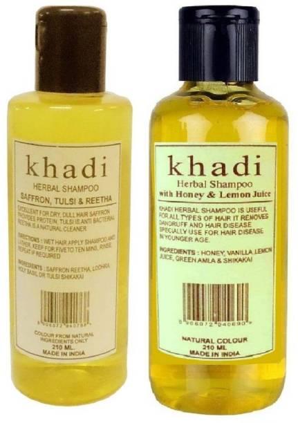Khadi Herbal Shampoo Combo pack