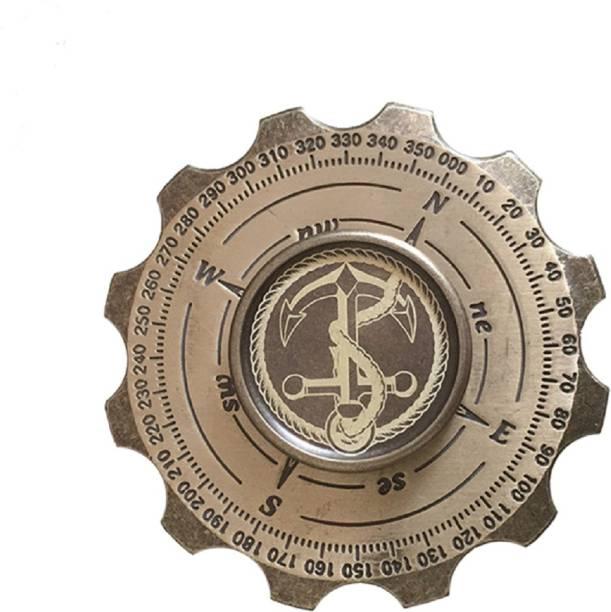 Montez High Speed Compass Metal Fidget Spinner Toy