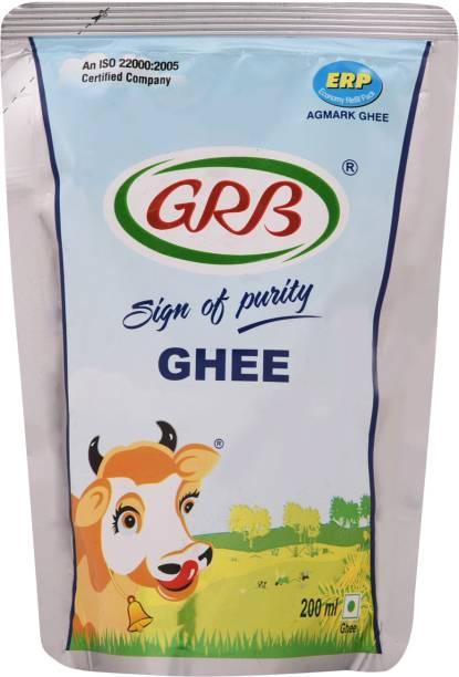 GRB Cow Ghee 200 ml Pouch