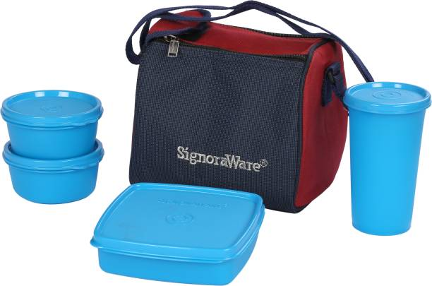 Signoraware Best 3 Containers Lunch Box
