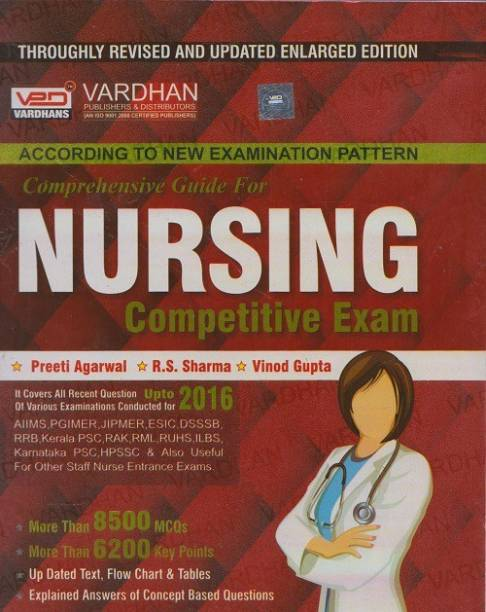 Nursing Compeive Exam Comprehensive Guide Vardhan Book