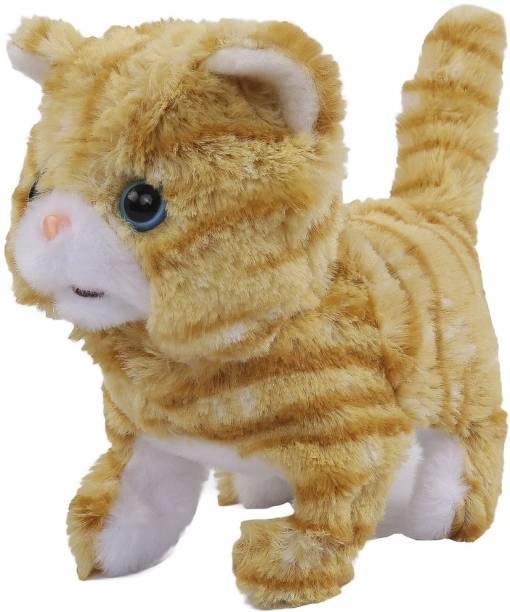 Hamleys Movers And Shakers Scottish Fold Plush Soft Cat Toy  - 9 cm