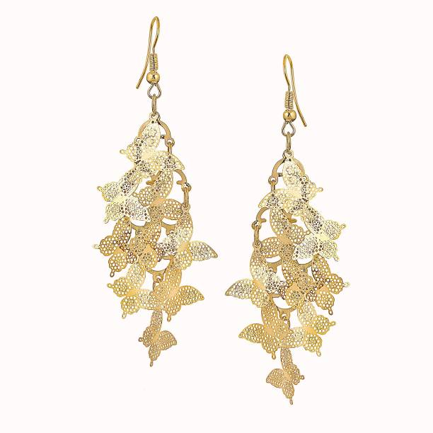 jewelleries diamonds buy for pasha women earrings handcrafted senco gold floral earring