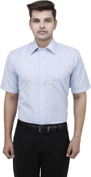 a3f22a98906 koutons outlaw Men Solid Formal Shirt