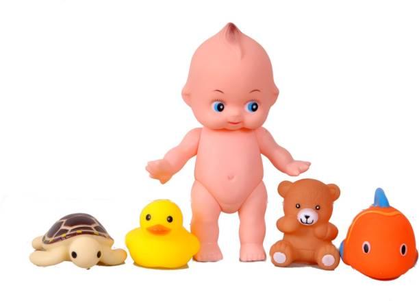 JIVI BATH BUDDIES BATH TOYS ( 5 PCS) Bath Toy