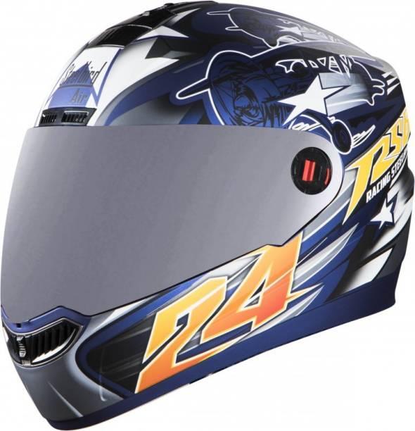 Steelbird SBA-1 HOVERING BARGY Motorbike Helmet