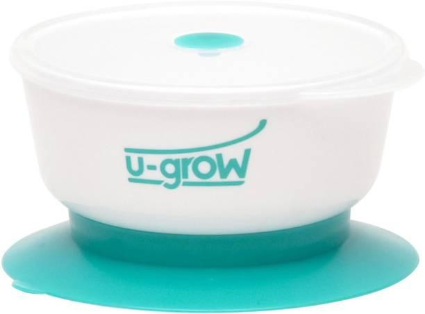 U-grow Baby Suction Feeding Bowl  - PP
