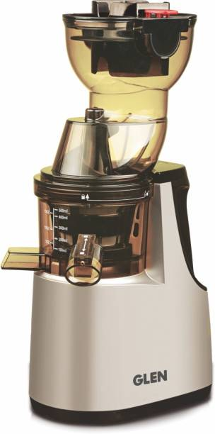 Glen SA-4018SJ Kitchen GL 4018 Cold Press Slow Juicer, BPA-Free Material - Powerful Motor - 250 W, Eco - Friendly - Easy to clean 220 W Juicer (1 Jar, Multicolor)