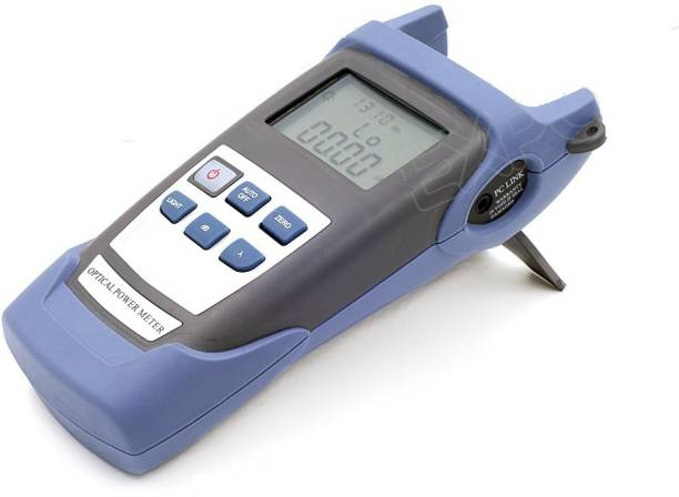 Techtest Optical Power Meter Fiber Fibre optics tester High Power test SM MM Telecom FTTH +25 to -50dbm One year Warranty FC/SC Connectors & Batteries Digital Multimeter
