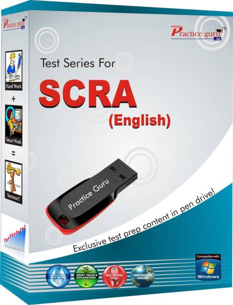 Best Quality 5 Printed Mock Tests, 100+ Topic Wise And 10 Mock Online Tests (Computer Based With Latest Online Format Of Exam, In Free 8 GB Pen Drive) For SCRA (Target, Class 11 & 12) For Assured Success In English Medium!