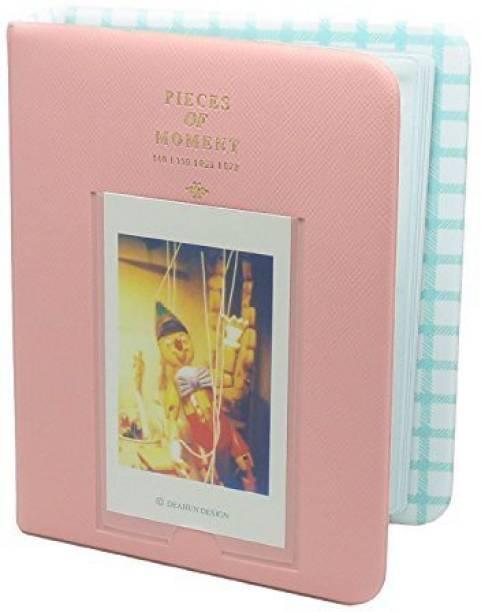 Caiul 64 Pockets Photo Album , Polaroid Pink Album
