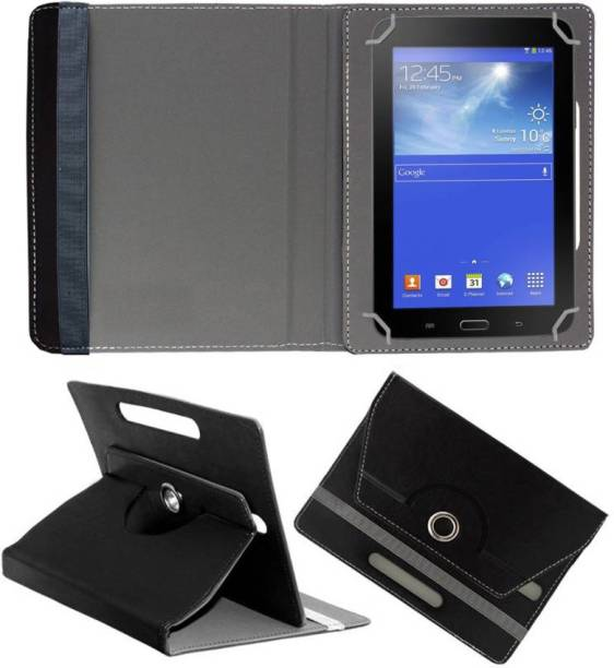 Fastway Book Cover for Ambrane A3-7 Plus Duo Tablet