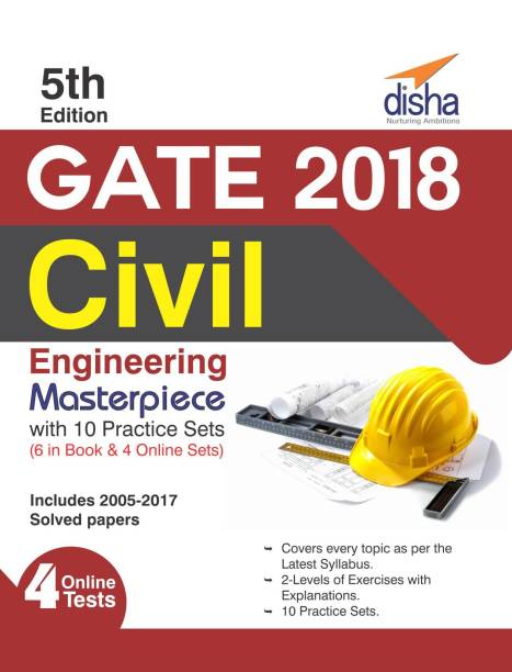 GATE 2018 Civil Engineering Masterpiece with 10 Practice Sets (6 in Book + 4 Online) 5th edition