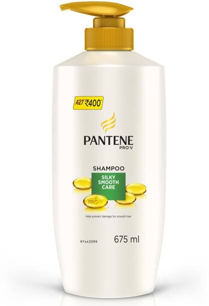 PANTENE pro v silky smooth care shampoo 675 ml