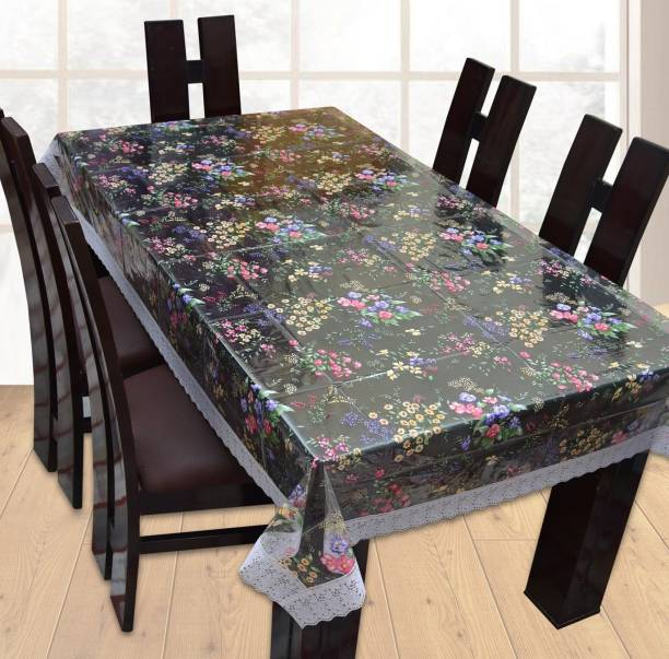 Yellow Weaves Fl 6 Seater Table Cover