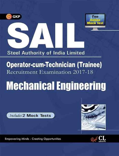 Sail Mechanical Engineering Operator Cum Technician (Trainee) 2017-18 - Includes 2 Mock Tests 5 Edition