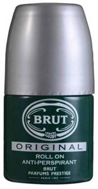 BRUT Imported Original Deodorant Antiperspirant Deodorant Roll-on  -  For Men