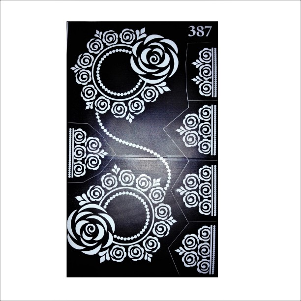 image relating to Printable Henna Stencils known as Henna Stencils - Acquire Henna Stencils on the internet at Most straightforward Price ranges within