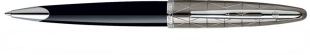 Waterman Carene Essential Contemporary Black & Gun Metal St Ball Pen