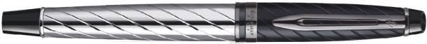 Waterman Exprt Precious Chrome Trim F.Black Gb Roller Ball Pen