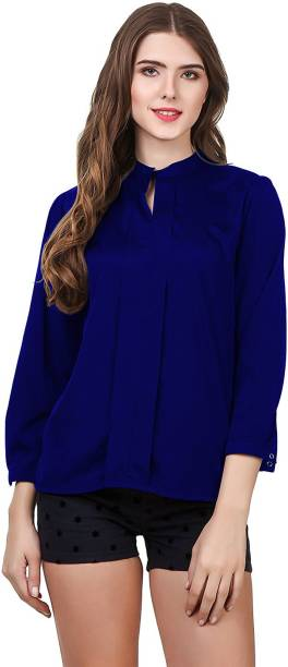 cc7b983be880 Womens Formal Shirts - Buy Womens Formal Shirts online at Best ...