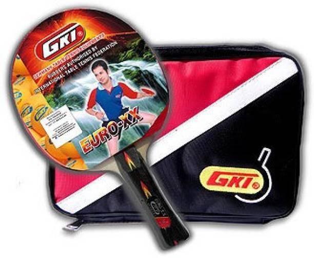 GKI Euro XX Multicolor Table Tennis Racquet