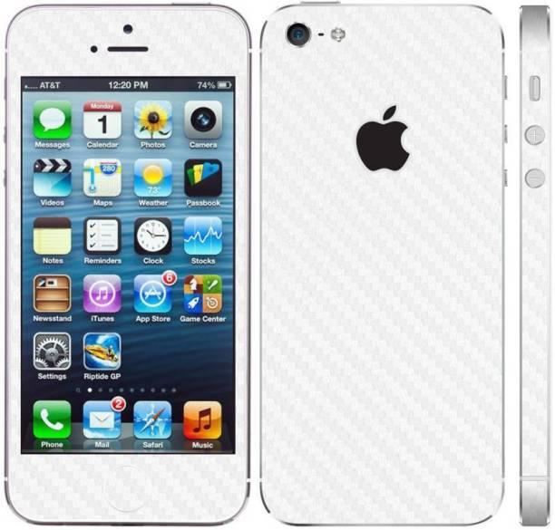 f490780efc7 Smartskkins White Carbon Fibre Skin for 5s SE iPhone 5s SE White Carbon  Mobile Skin