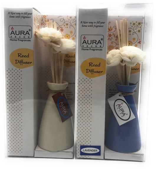 AuraDecor Lavender, Natural Diffuser Set