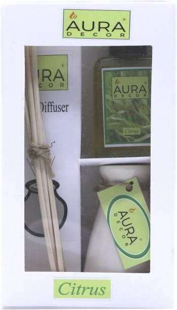 AuraDecor Citrus Diffuser Set