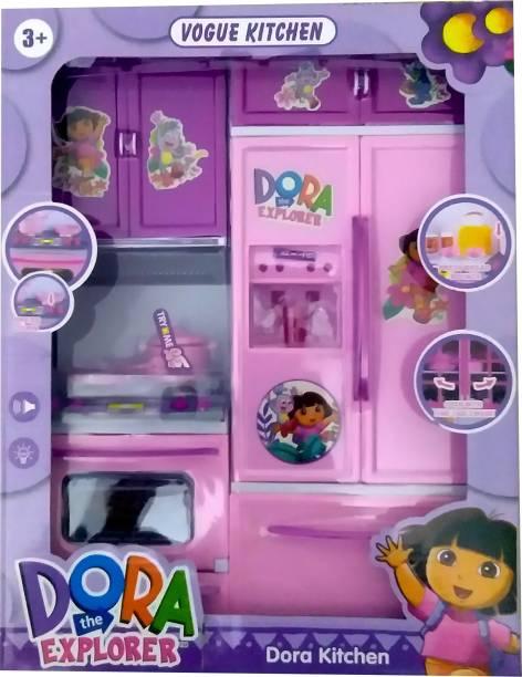 PRESENTSALE dora 2 pcs kitchen set toy for kids