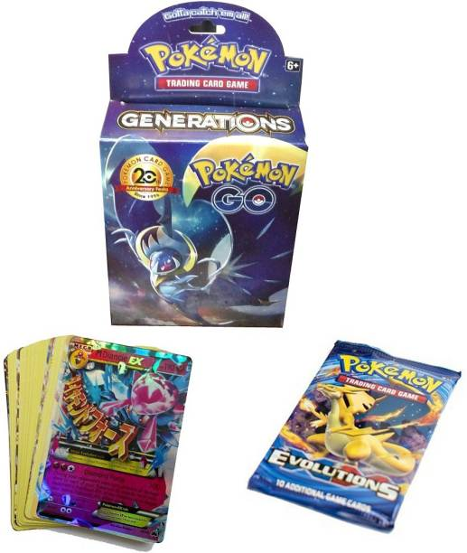 AncientKart Pokemon Generations Booster Deck with 1 Evolutions pack