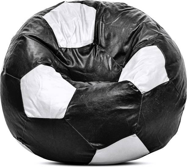 Sultaan XXXL Chair Bean Bag Cover  (Without Beans)