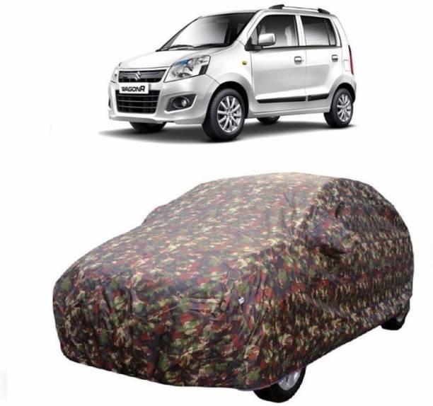ConneXxions Car Cover For Maruti Suzuki WagonR (Without Mirror Pockets)