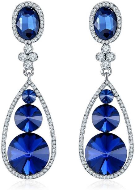 0e409d575 Blue Earrings - Buy Blue Earrings online at Best Prices in India ...