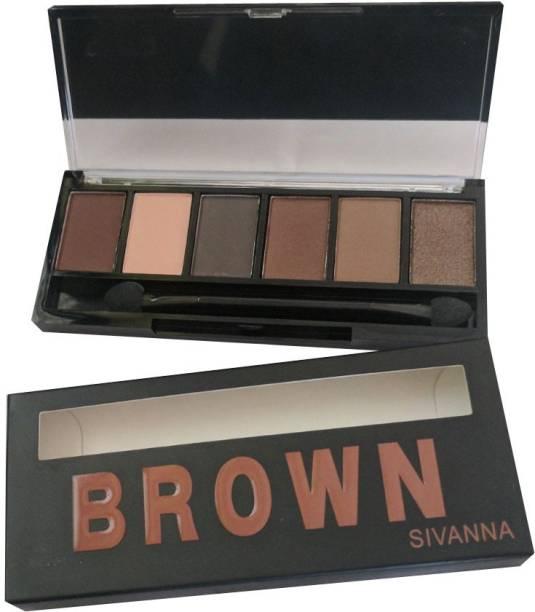 Sivanna Brown Eyeshadow 7 g