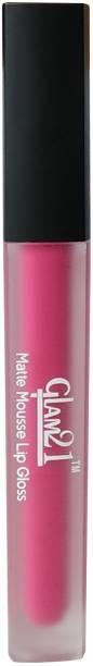 Glam 21 Matte Pink Color Lip Gloss