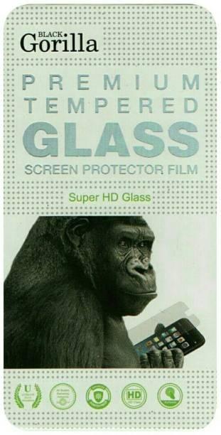 BLACK GORILLA Tempered Glass Guard for VIVO Y51