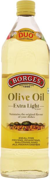 Borges Extra Light Olive Oil Glass Bottle