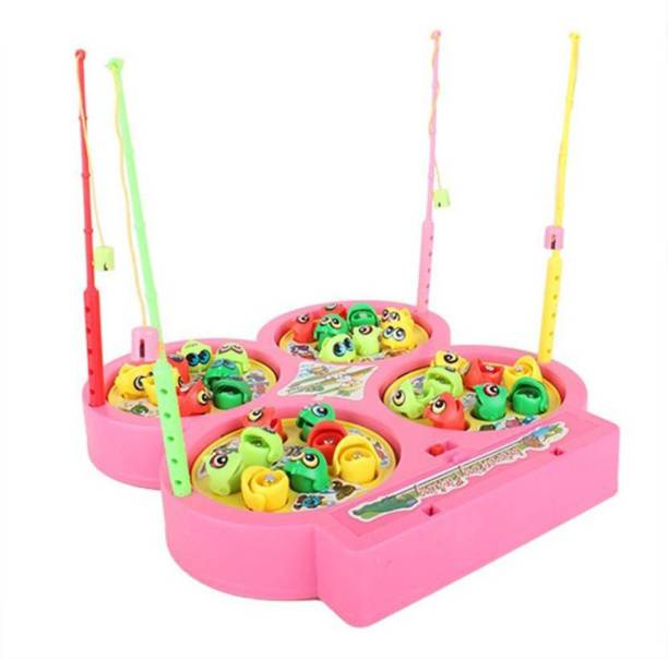 PRESENTSALE Fishing Catching Game With Music FOR KIDS Party & Fun Games Board Game