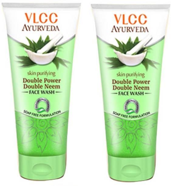 VLCC Ayurveda Skin Purifying Double Power Double Neem Facewash Face Wash