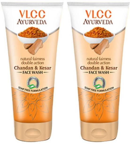 VLCC Ayurveda Natural Fairness Double Action Chandan & Kesar Face wash Face Wash