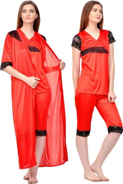 3593f632e4 Rowena Women s Nighty with Robe