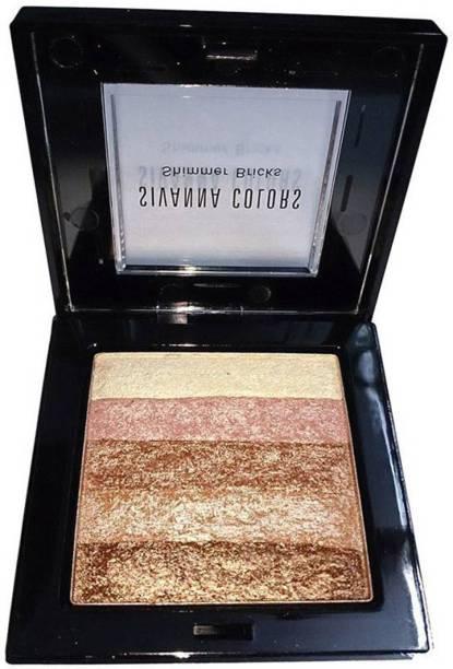 Sivanna Professional Make Up Shining Star Shimmer Brick Highlighter