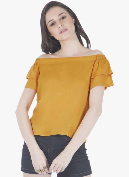 d92ecf80d15ac Yellow Tops - Buy Yellow Tops Online at Best Prices In India ...