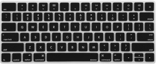 Saco Chiclet Keyboard Skin for iMac Wireless 2nd Gen Magic Keyboard MLA22B/A - Black Laptop Keyboard Skin