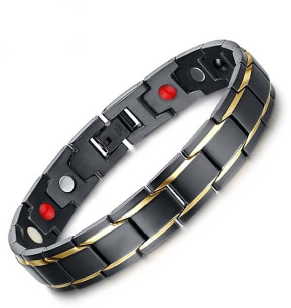University Trendz Metal Gold-plated, Titanium Bracelet