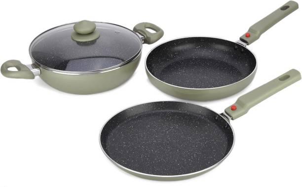 Prestige Omega Festival Pack - Build Your Kitchen Set Induction Bottom Cookware Set