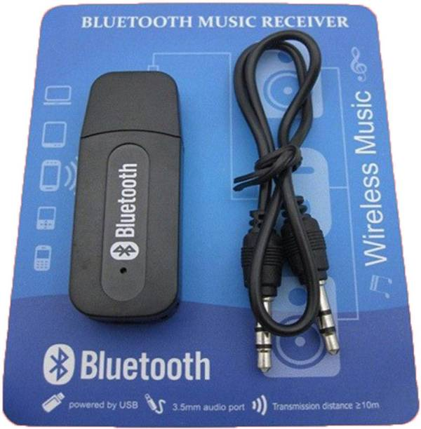 RIVAN v2.1+EDR Car Bluetooth Device with Adapter Dongle Black