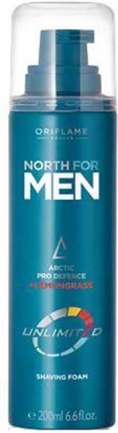 Oriflame Sweden North For Men Unlimited Shaving Foam